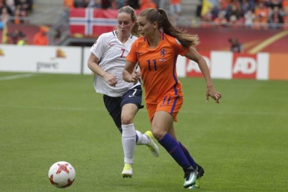 Nederlandse vedette Lieke Martens onzeker voor clash met Red Flames