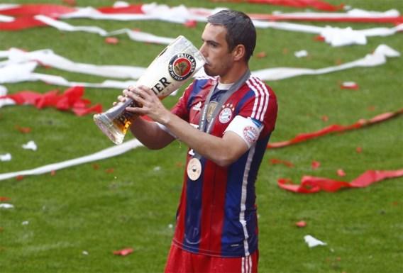 Gestopte Philipp Lahm is Duits Speler van het Jaar