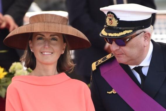 De hoed van prinses Claire was geen fruitschaal, maar 'vervaardigd uit Abaca-silk'