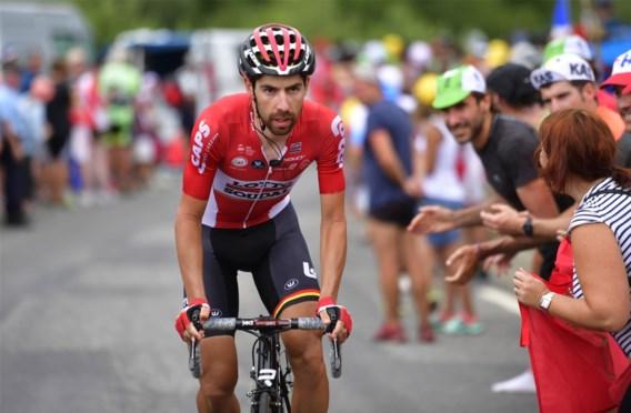 Thomas De Gendt beperkt aantal na-Tourcriteriums in functie van de Vuelta