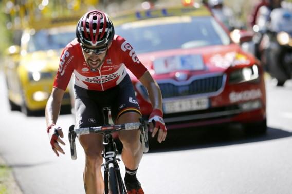 """Ontgoochelde De Gendt reageert: """"Zin om meteen naar huis te gaan, maar zal mijn best doen om het tot een sprint te laten komen in Parijs"""""""