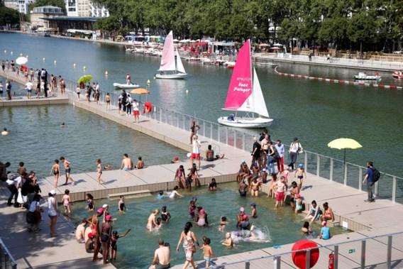 Baden in de Seine tijdelijk niet meer mogelijk