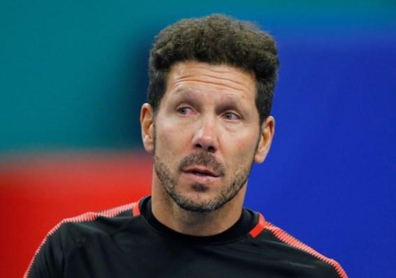 Atletico-coach Diego Simeone verlengt zijn contract met een jaar