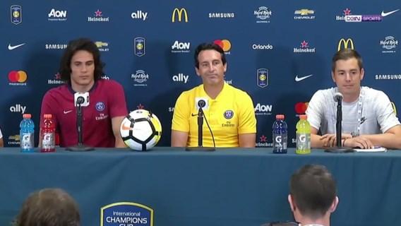 """Gehypete persconferentie PSG baart een muis: """"We spreken niet over Neymar"""""""