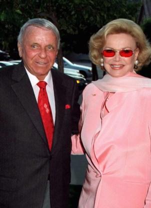 Weduwe Frank Sinatra overleden