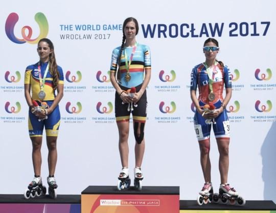 """Belgische ster van Wereldspelen keert terug met zes medailles: """"Toch blij dat er één gouden tussenzit"""""""