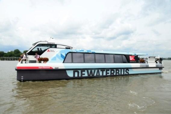 Tarieven voor Antwerpse Waterbus zijn bekend