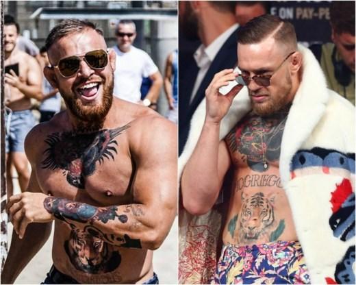 Dubbelganger van Conor McGregor zorgt voor gekte in LA: toeloop van dolle fans