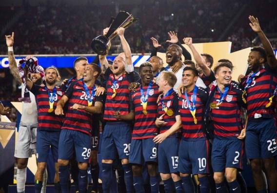 Verenigde Staten pakken in eigen land zesde eindzege in Gold Cup