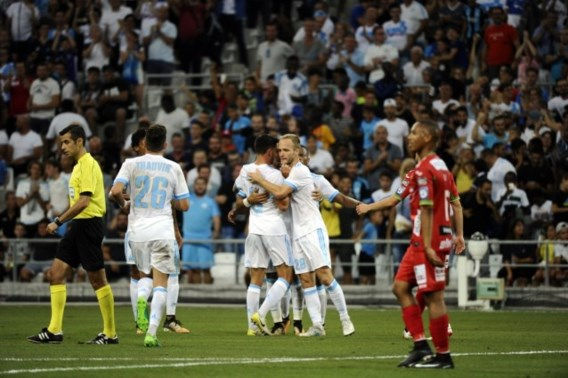 Oostende scoort twee keer bij Europees debuut maar verliest na spektakelmatch in Marseille