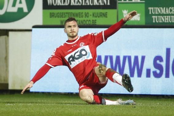 Kortrijk-spits Papazoglou op huurbasis naar Noorse Aalesunds