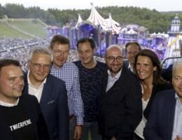'Michel niet van Tomorrowland-podium gegooid door dj'