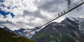 'Langste hangbrug ter wereld' geopend in Zwitserland