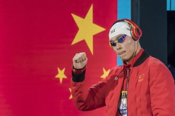 Chinees Sun Yang doet geen gooi naar derde goud op 1.500 meter vrije slag