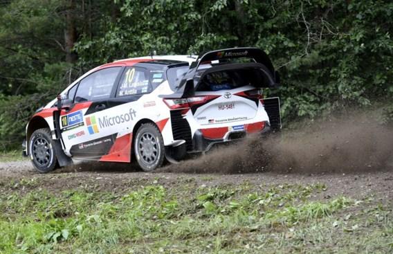 Thuisrijder Latvala neemt leiding over van landgenoot in Rally van Finland