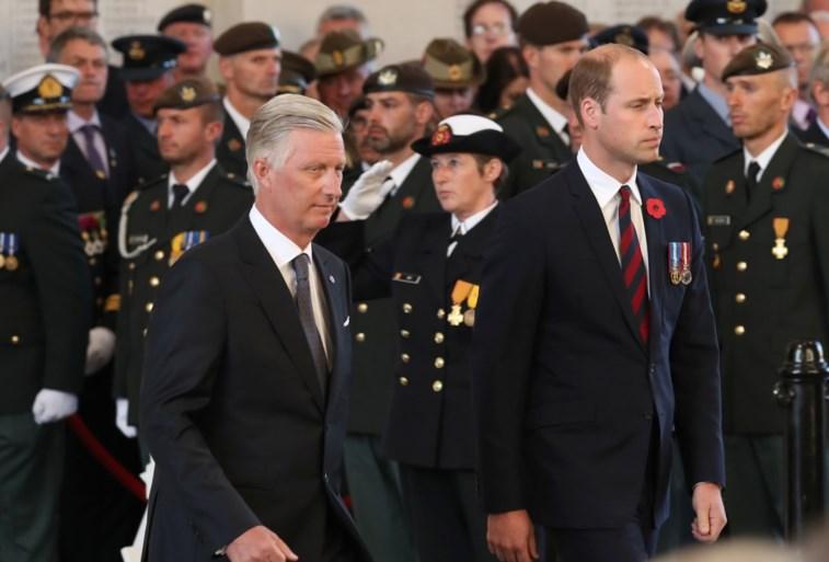 Prins William herdenkt Slag om Passendale: 'Britten en Belgen nog steeds schouder aan schouder'