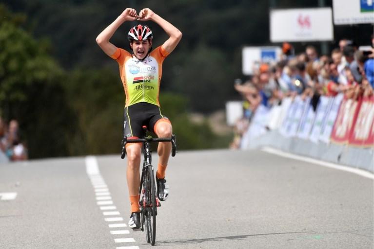 Lars Van Ryckeghem is Belgisch kampioen bij eerstejaars nieuwelingen