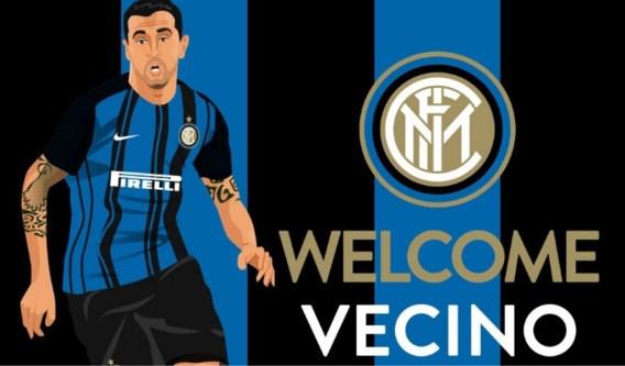 Uruguayaans international Vecino tekent tot 2021 bij Inter Milaan