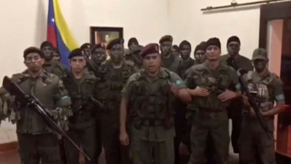 Venezolaanse regime zegt 'aanval' tegen leger te hebben afgeslagen