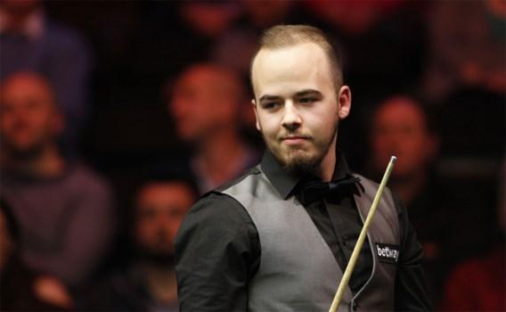 Luca Brecel na thriller op hoofdtabel World Open snooker