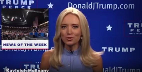 'Dat is het echte nieuws', op Trump TV