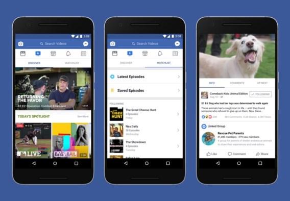 Facebook gaat rechtstreekse concurrentie aan met uw televisie en Youtube