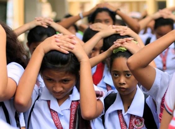 Filipijnen opgeschrikt door aardbeving