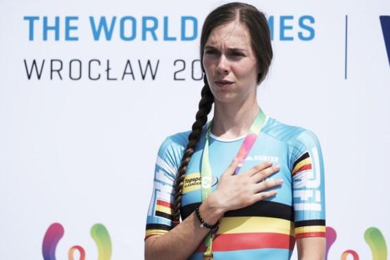 Sandrine Tas maakt naam en faam waar in Flanders Grand Prix