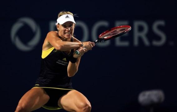 Angelique Kerber kansloos onderuit in achtste finales in Toronto