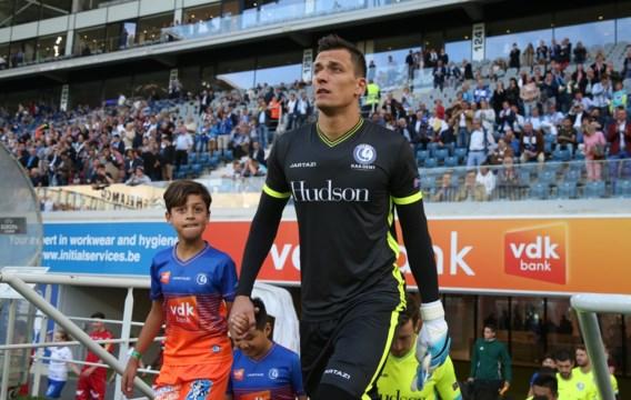 Doelman Lovre Kalinic opnieuw in selectie AA Gent