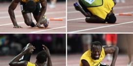 """Usain Bolt was eigenlijk al geblesseerd voor de start van zijn laatste race: """"Dat ik zou starten was geen kwestie van 'willen', maar van 'moeten'"""""""