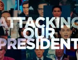 Trump valt media en Democraten aan in giftig televisiespotje