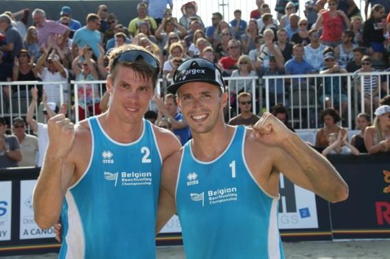 Koekelkoren en Van Walle stoten door naar achtste finales op EK beachvolley