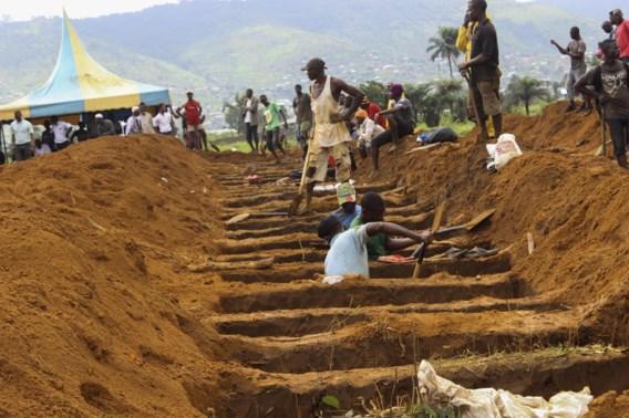 Dodental na modderstromen Sierra Leone stijgt tot meer dan 400