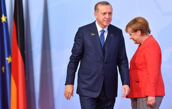 Erdogan roept Turken in Duitsland op niet voor Merkel te stemmen