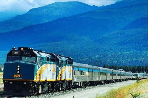 Spectaculaire uitzichten gegarandeerd: op ontdekkingsreis door Canada per spoor
