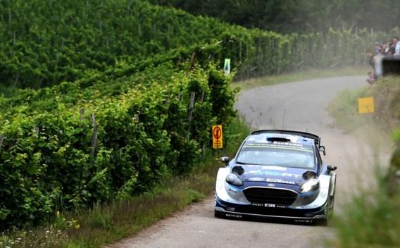 Tänak leidt in Rally van Duitsland, Neuville schuift op naar top drie