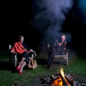 Veerle De Wit, weduwe van Hugo Claus, en oncoloog Wim Distelmans praten over de dood in Villa Hellebosch.