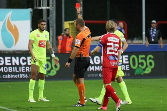AA Gent verliest spektakelmatch tegen Moeskroen na onterecht rood