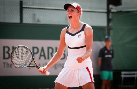 Elise Mertens naar halve finales dubbelspel in New Haven
