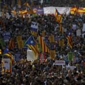 Barcelona komt op straat: 'Ik ben niet bang'