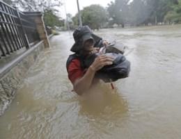'Storm Harvey is nu al catastrofe en het wordt nog erger'