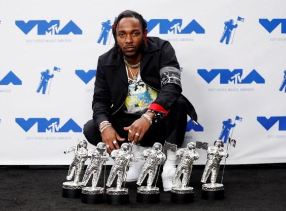 Kendrick Lamar grote slokop op MTV Video Music Awards