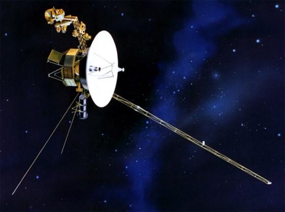 Kiest Brusselaar verjaardagsbericht voor Voyager?