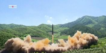 De Noord-Koreaanse rakettenregen