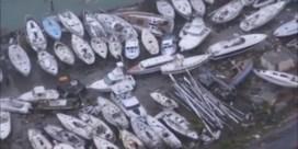 Helikopter filmt schade op Sint-Maarten na superorkaan Irma
