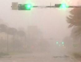 Met een razende orkaan Irma ontwaken inwoners van Florida