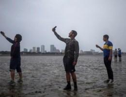 Irma legt even enkele baaien in Florida volledig droog