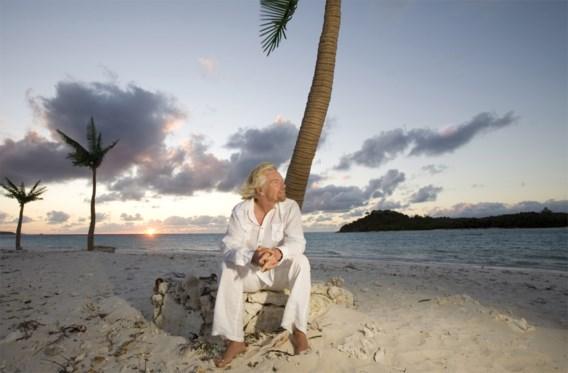 Richard Branson toont hoe orkaan Irma zijn eiland verwoestte