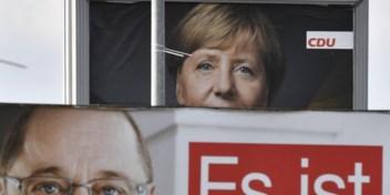 Merkel heeft een probleem